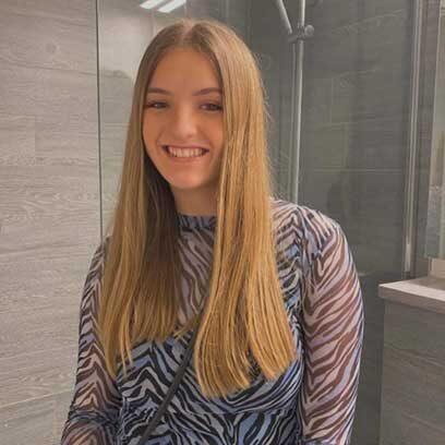 Steinunn Glóey Höskuldsdóttir, þátttakandi á KVAN 16-19 ára